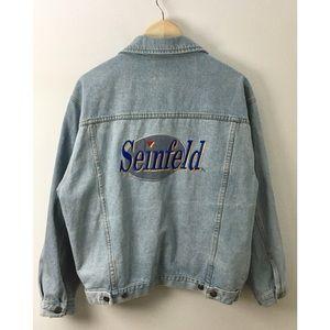 Vintage 90's Seinfeld Denim Jacket